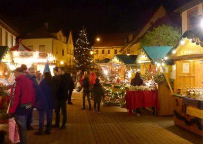 Innenstadt - Weihnachtsmarkt Grünstadt