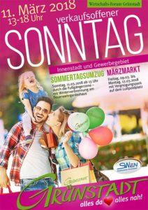 Verkaufsoffener Sonntag und Sommertagsumzug