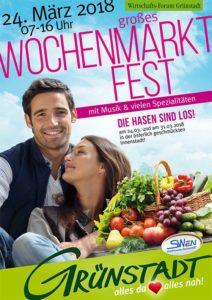 Grünstadter Wochenmarktfest 2018