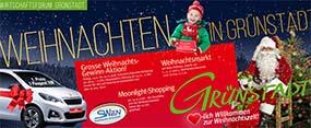 Weihnachtsaktionen des Wirtschaftsforums Grünstadt 2018