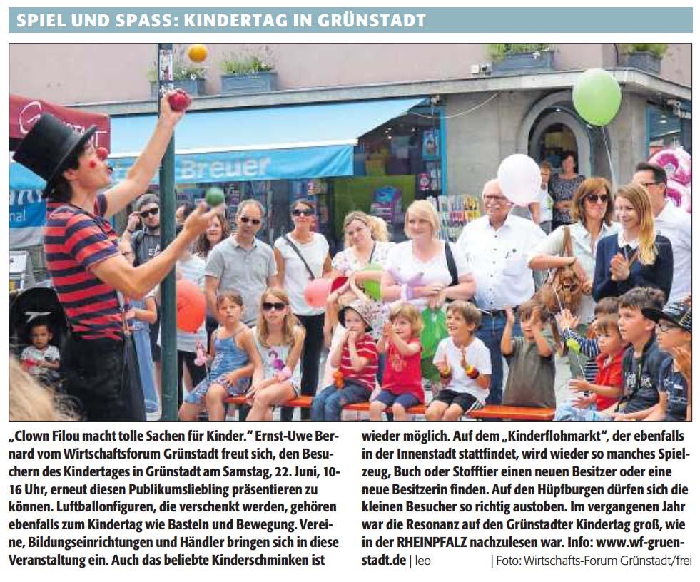 Grünstadter Kindertag 2019