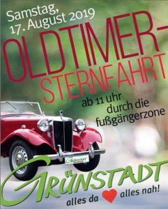 Grünstadt Oldtimer Sternfahrt 2019