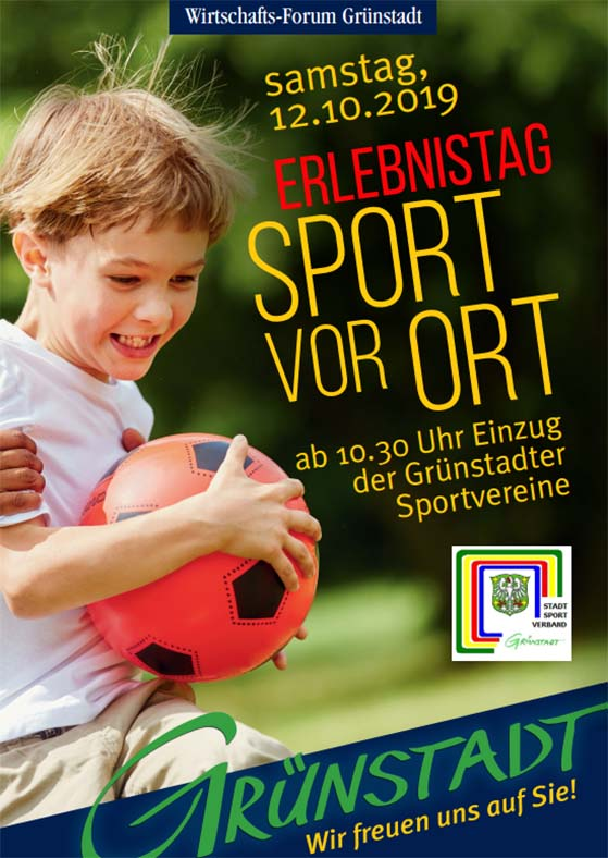Sport vor Ort Grünstadt 12.10.2019