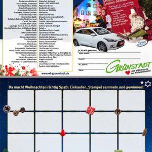 Stempelkarte Weihnachtsaktion Grünstadt 2019