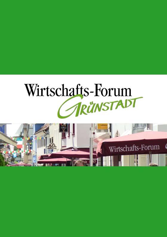 Nächste Veranstaltung Wirtschaftsforum Grünstadt