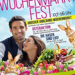 Wochenmarktfest in Grünstadt 2019