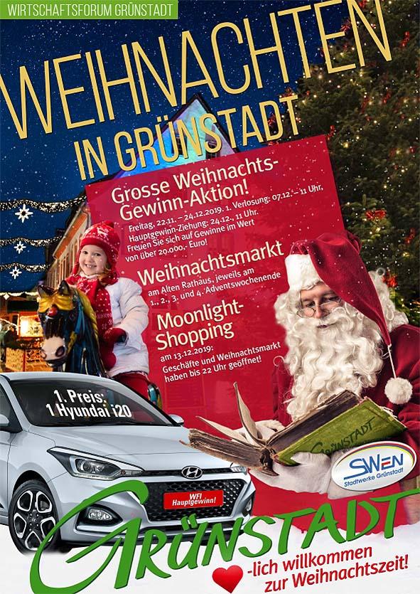 2Weihnachtsaktion in Grünstadt 2019
