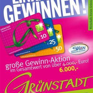 Wirtschaftsforum Grünstadt Gewinnaktion verlängert bis 11.07.2020